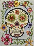 Dia de los Muerton con Flores