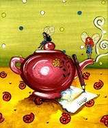 Waiting For The Tea To Draw