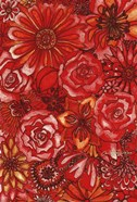 Red Flower Collage