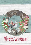 Coastal Christmas Warm Wishes