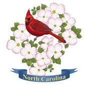 State Bird And Flower NC
