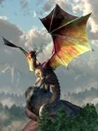 Yellow Winged Dragon