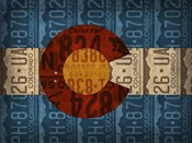 Colorado State Flag License Plates