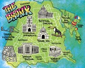 Bronx Map