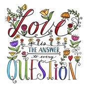 Love is the Answer Color