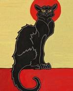 Black Cat Red Moon
