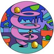 Pink Ramp Circle