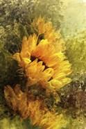 Impressionist Sunflowers