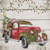 Vintage Christmas Truck-C