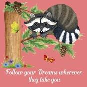 Forest Friends - Raccoon