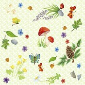 Scatter Print - Forest Friends Elements
