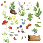Woodland Forest Friends Elements