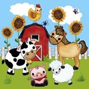 Farm Animal Scene