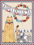 America the Beautiful Porch Scene