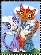 Cats Trio