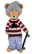 Skater Bear