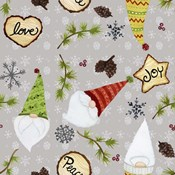 Woodland Gnome Scatter Print