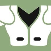 Football Close-ups - Shoulder Pads