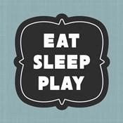 Eat Sleep Play Football - Blue Part II