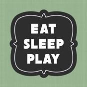 Eat Sleep Play Football - Green Part II