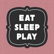 Eat Sleep Play Football - Pink Part II