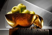 Apple In A Gold Bowl