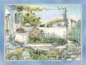 White Wall Garden