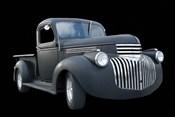 Grey Chevy Pickup Truck