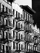 Fire Escapes in Manhattan, NYC