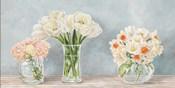 Fleurs et Vases Aquamarine