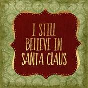 Belive In Santa Claus God