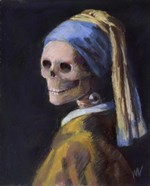 Skelly with a Pearl Earring