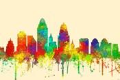 Cincinnati Ohio Skyline-SG