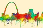 Gateway Arch St Louis Missouri Skyline-SG