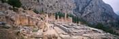 Ruins of a Stadium, Delphi, Greece