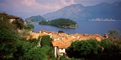 Village at the Waterfront, Sala Comacina, Lake Como, Como, Lombardy, Italy