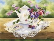 Victorian Tea in the Garden