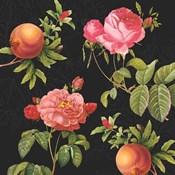 Pomegranates and Roses I