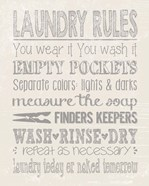 Laundry Rules on Whiate
