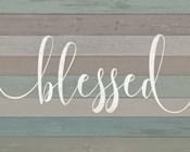 Rustic Blessed Script