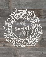Rustic Home Sweet Home