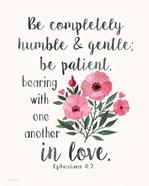 Patient Humble Kind
