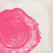 Tree Stump Hot Pink