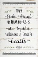 They Broke Bread II