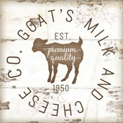 Goat's Milk and Cheese Co. II