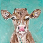 Pink Nosed Cow