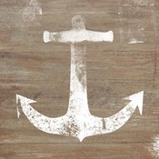 White Anchor on Natural