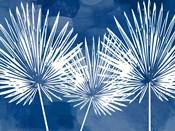 Painted Sky Palms Horizontal