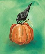 Pumpkin and Bird