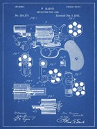 Revolving Fire Arm Patent - Blueprint